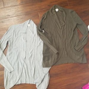 Target A New Day open cocoon cardigan, large
